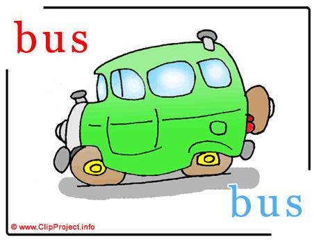 Bus - bus abc image Dictionnaire Anglais Français