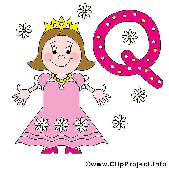 Q queen cliparts gratuis – Alphabet english images