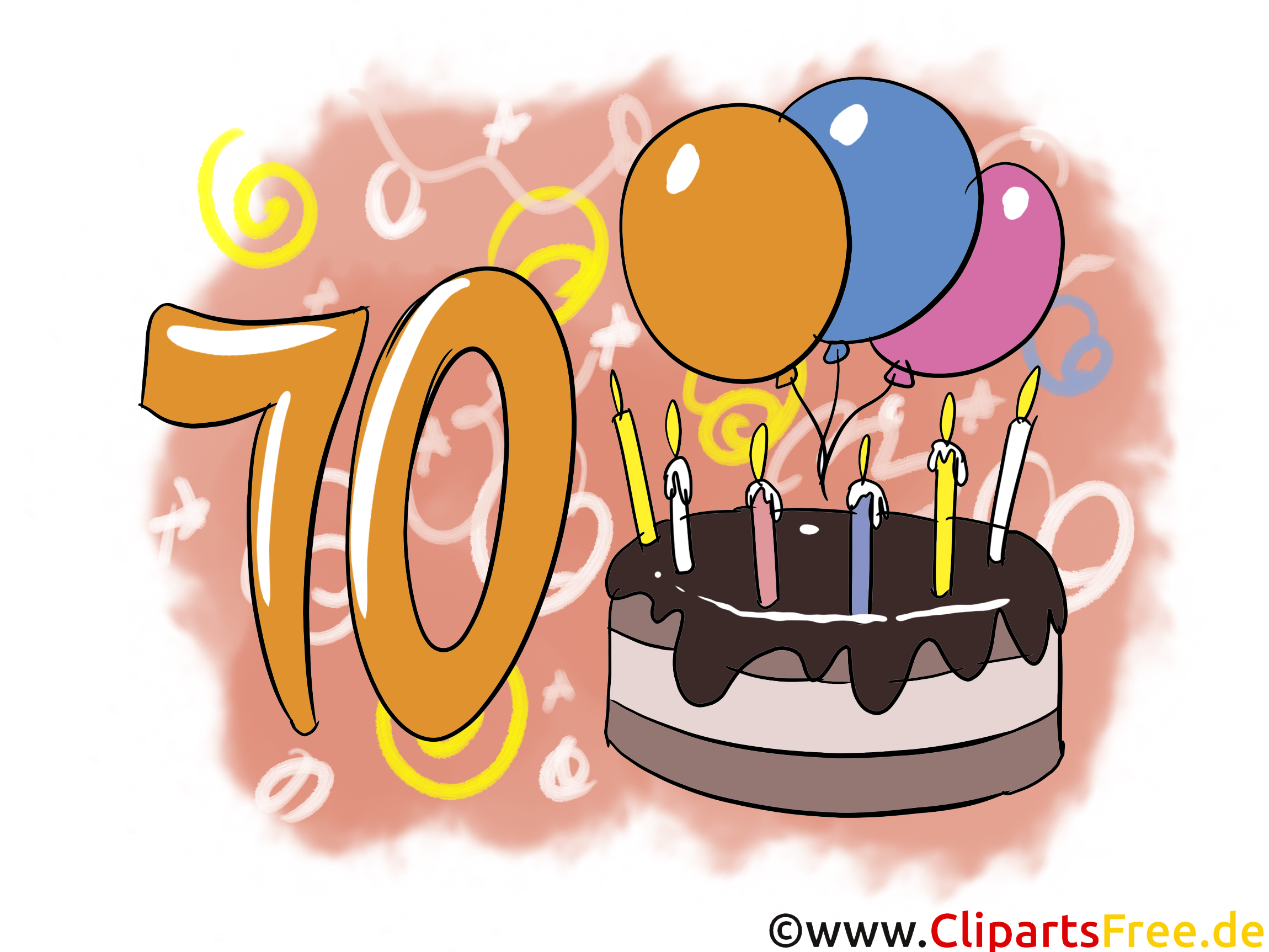 10 ans illustration gratuite anniversaire clipart anniversaire dessin picture image. Black Bedroom Furniture Sets. Home Design Ideas