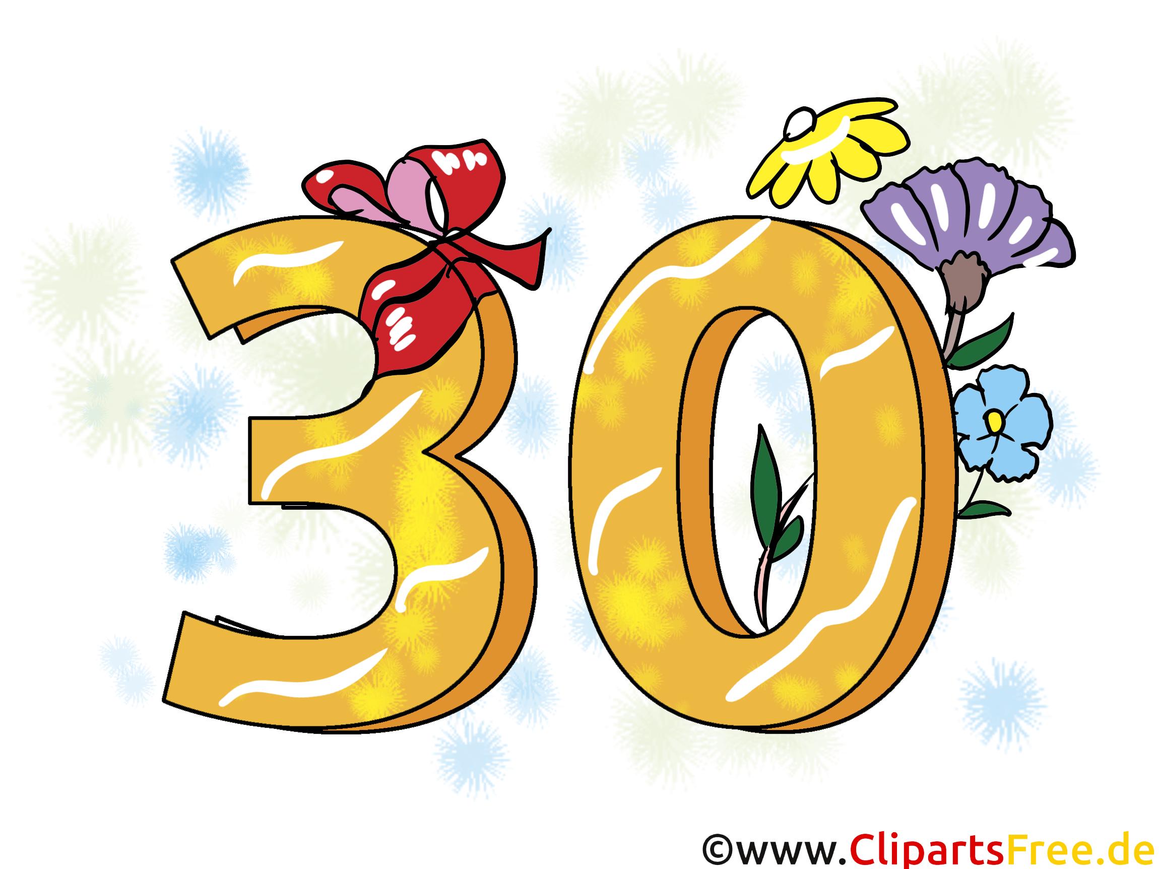 30 ans dessin gratuit – Anniversaire image