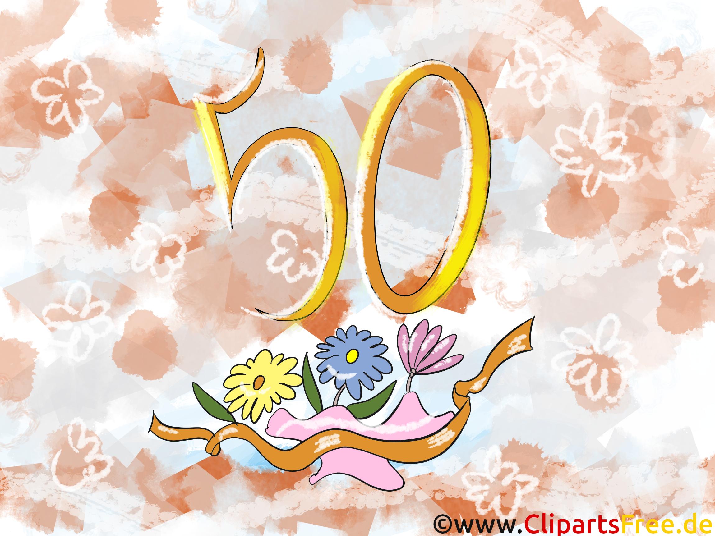 50 ans dessin à télécharger – Anniversaire images