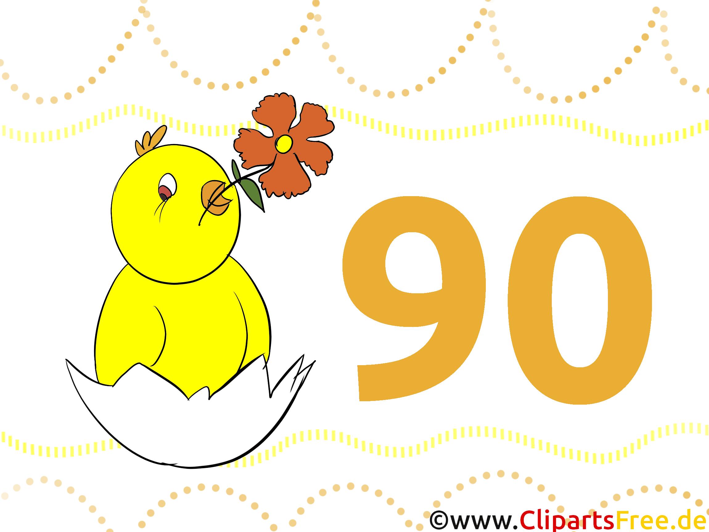 Bekannt Anniversaire - Clipart images télécharger gratuit QV54