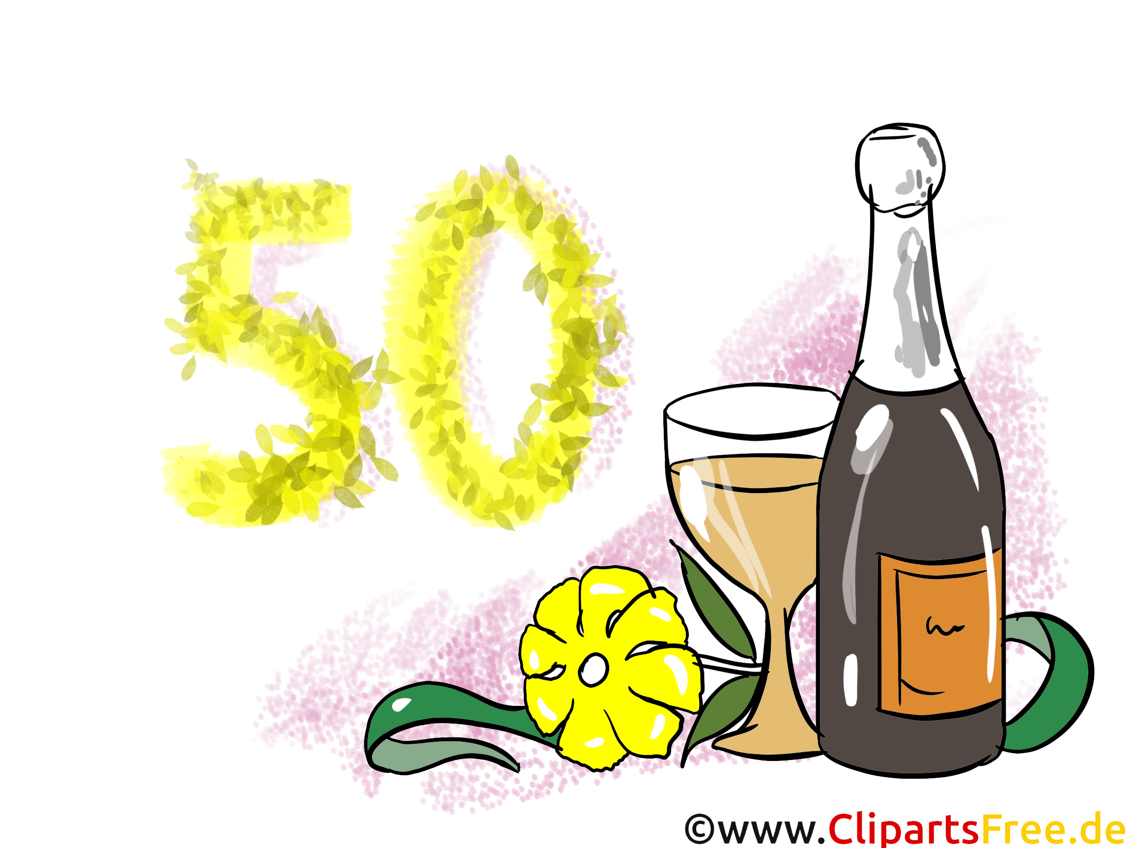 champagne 50 ans dessin anniversaire images anniversaire dessin picture image graphic. Black Bedroom Furniture Sets. Home Design Ideas