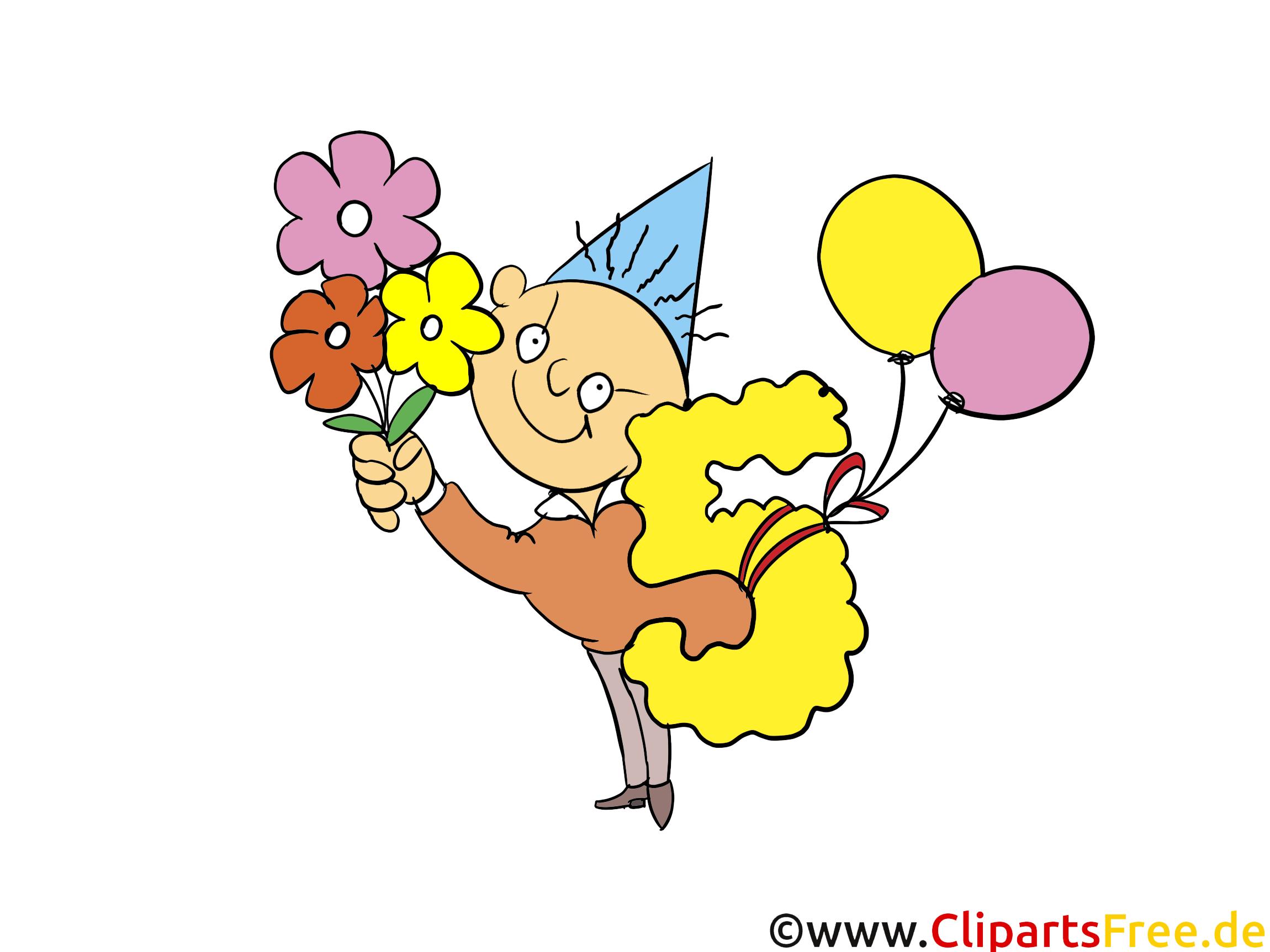Fleurs 5 ans dessin – Anniversaire à télécharger
