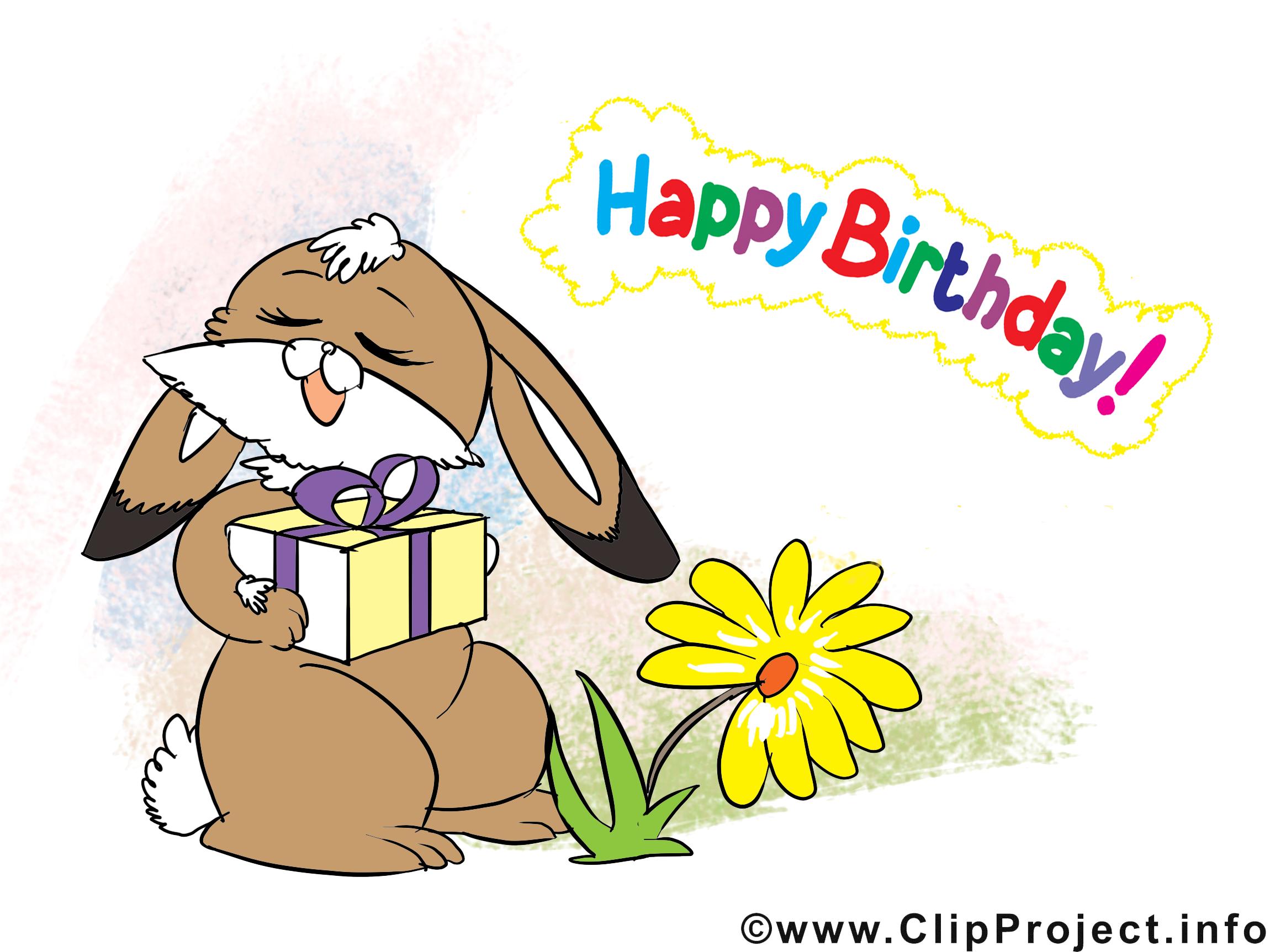 Joyeux anniversaire illustration images anniversaire - Clipart anniversaire gratuit ...