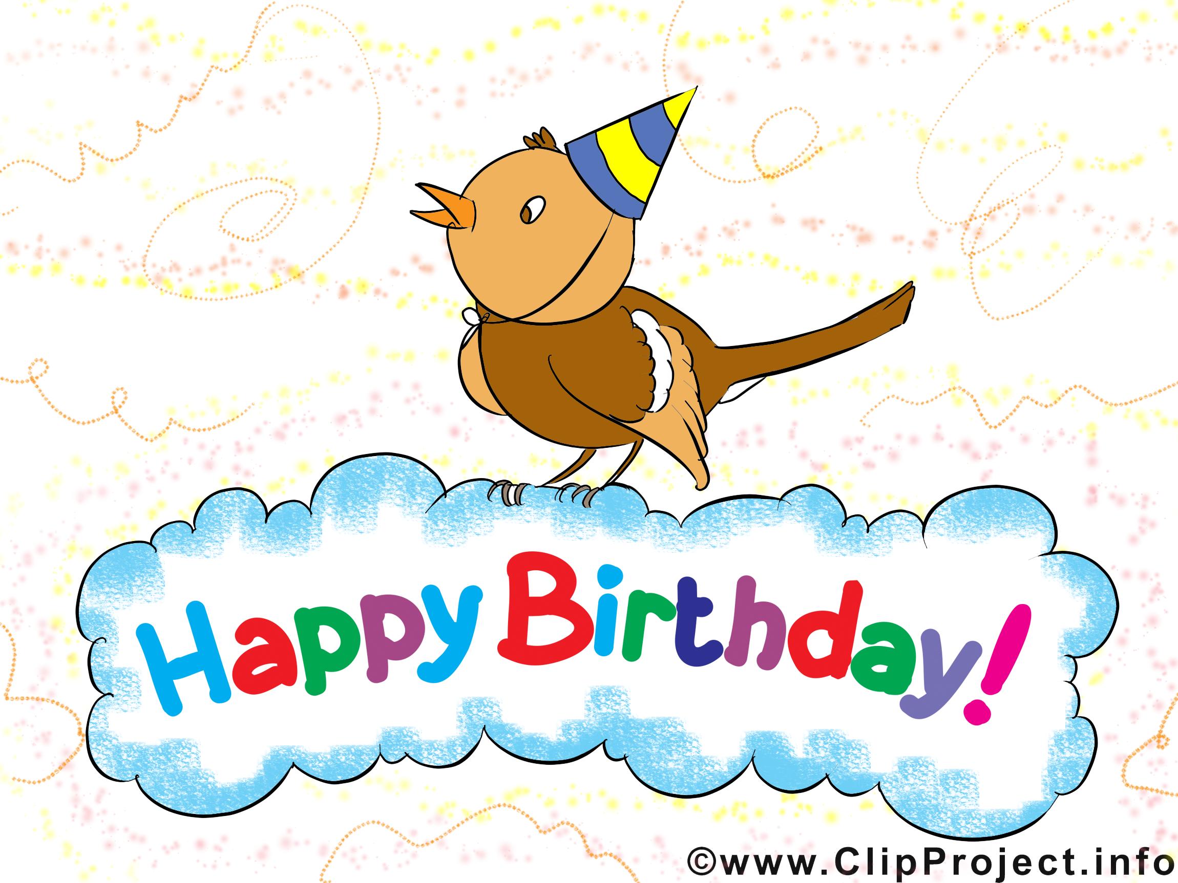 Souvent Joyeux anniversaire images gratuites clipart - Anniversaire dessin  JA46