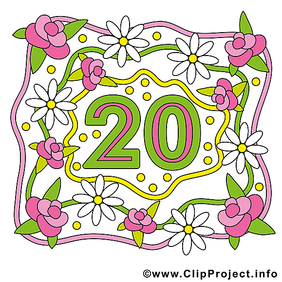 20 ans anniversaire mariage image