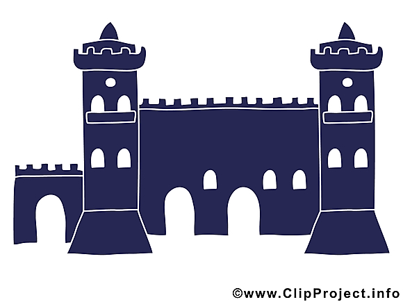 Clipart château – Biens immobiliers dessins gratuits
