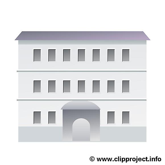Fabuleux Coloriage immeuble dessin – Biens immobiliers image - Architecture  XN52