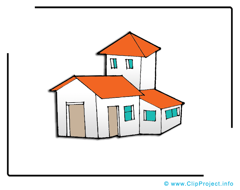 Cottage images – Biens immobiliers dessins gratuits