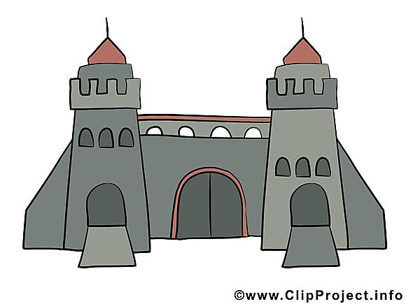 Deux tours dessins gratuits – Biens immobiliers clipart