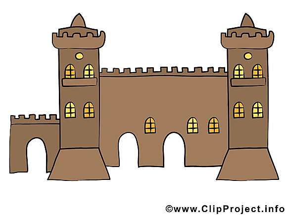 Fortification image – Biens immobiliers clipart