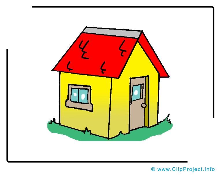 Maison clip art gratuit – Biens immobiliers dessin