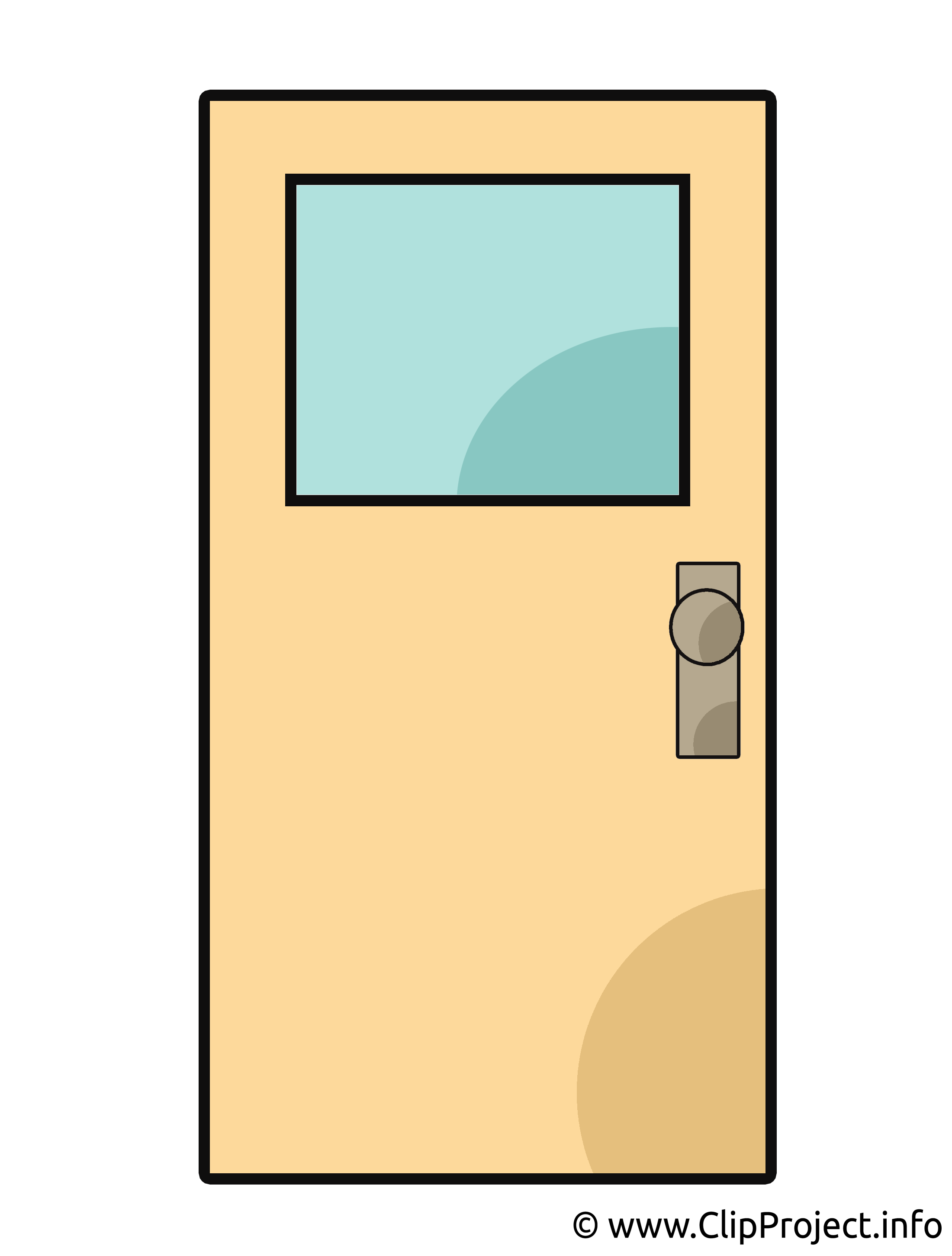 Porte illustration – Biens immobiliers images cliparts