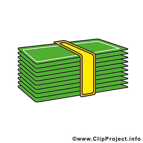Billets clip arts gratuits – Argent illustrations