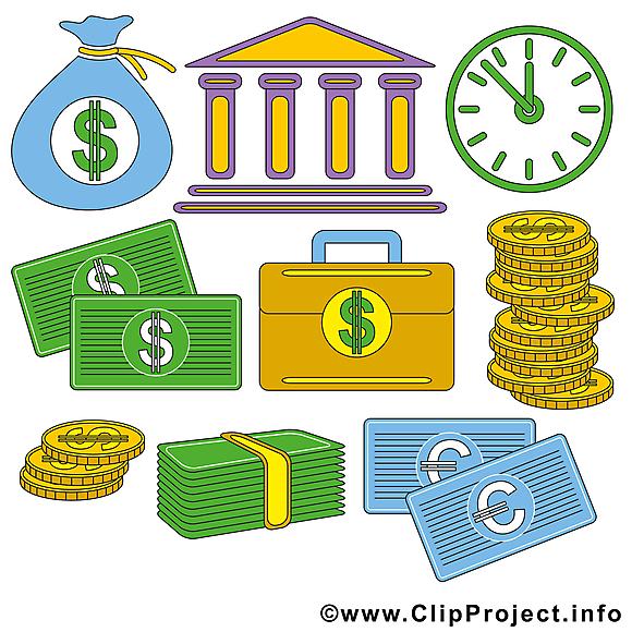 Business clipart gratuit – Argent images