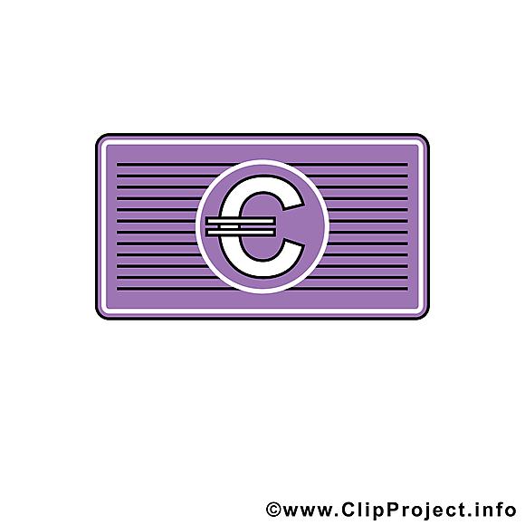 Euro image à télécharger – Argent clipart