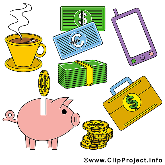 Finance clipart – Argent dessins gratuits