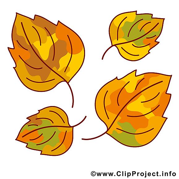 Chute des feuilles image gratuite – Automne illustration