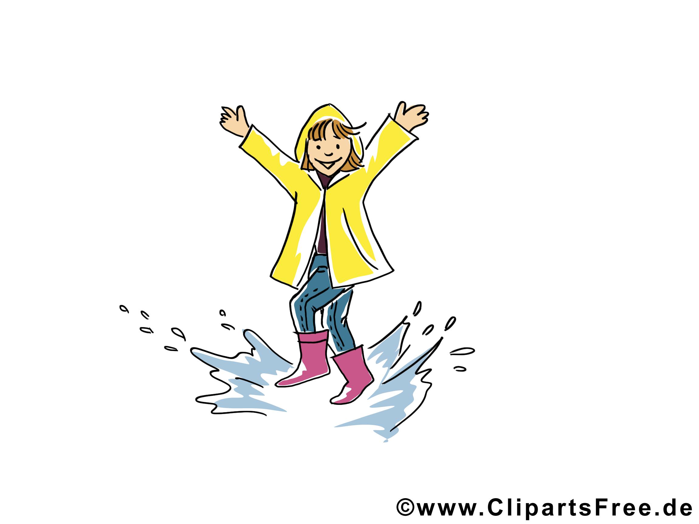 Flaque dessin gratuit – Automne image