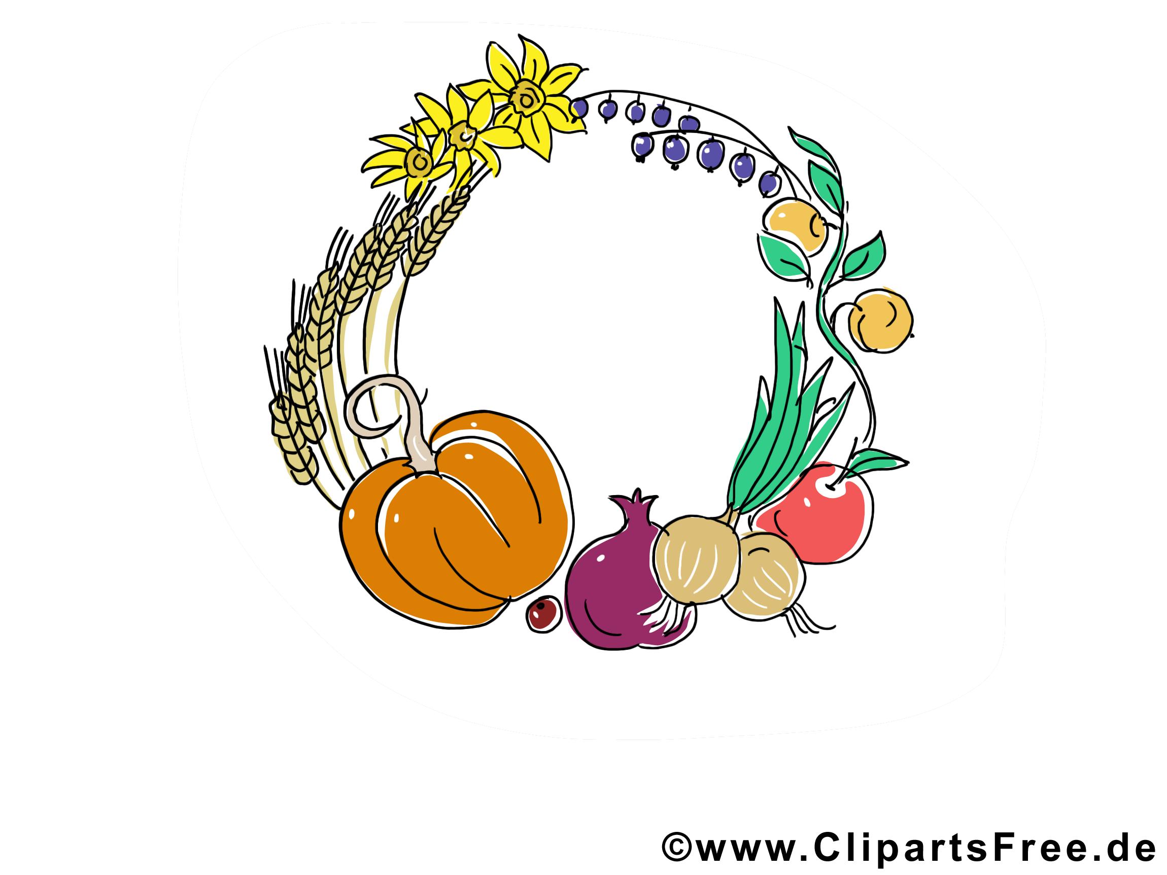Légumes images gratuites – Automne clipart