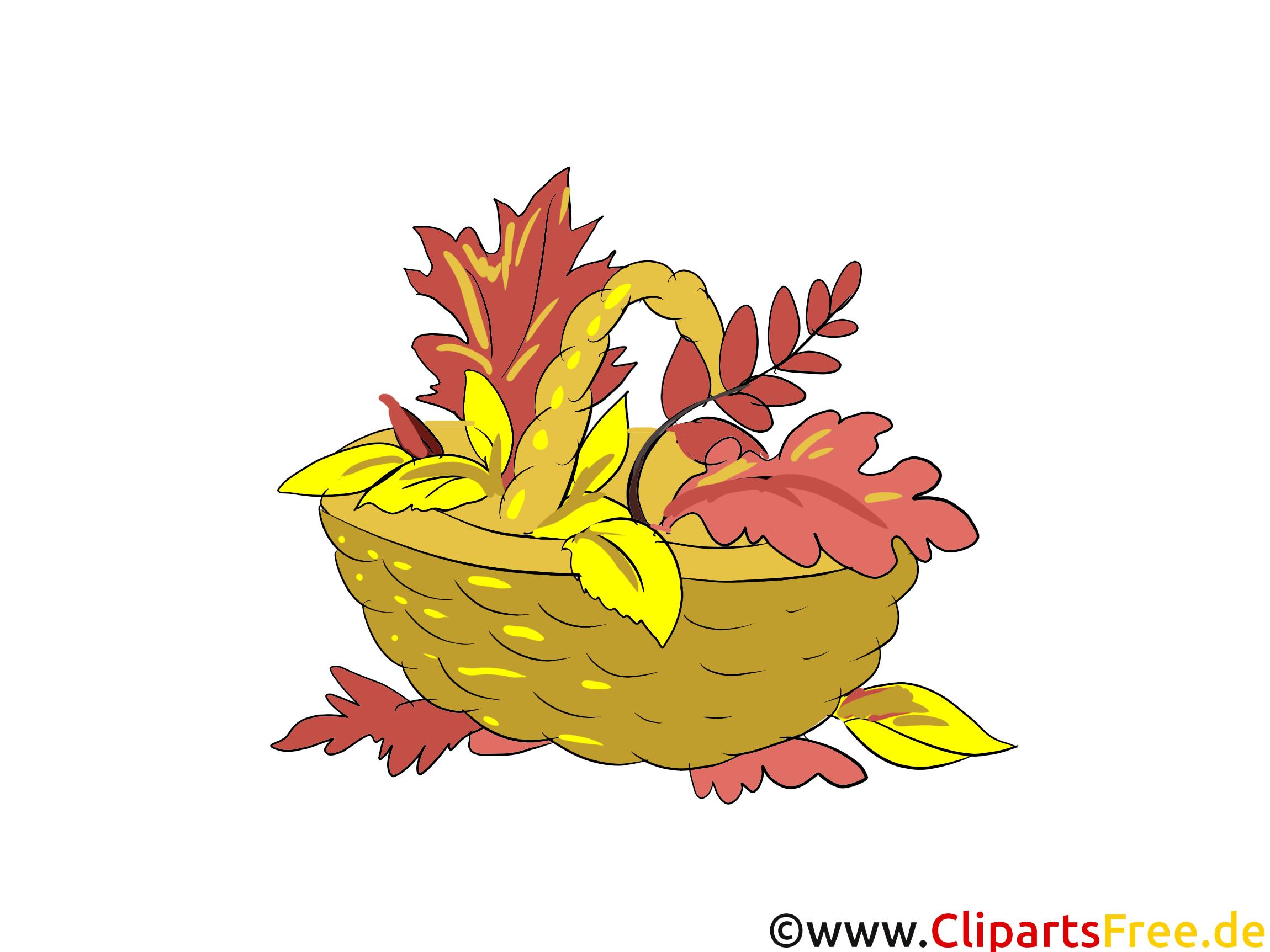 Panier automne image à télécharger gratuite