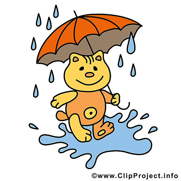 Parapluie chat image – Automne images cliparts