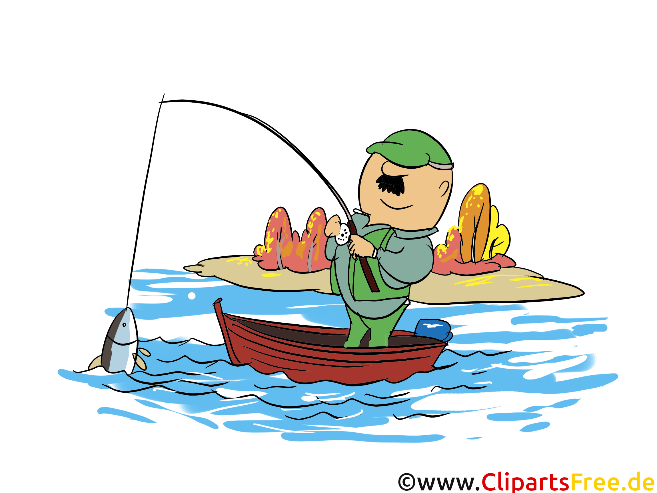 Pêche dessin – Automne à télécharger