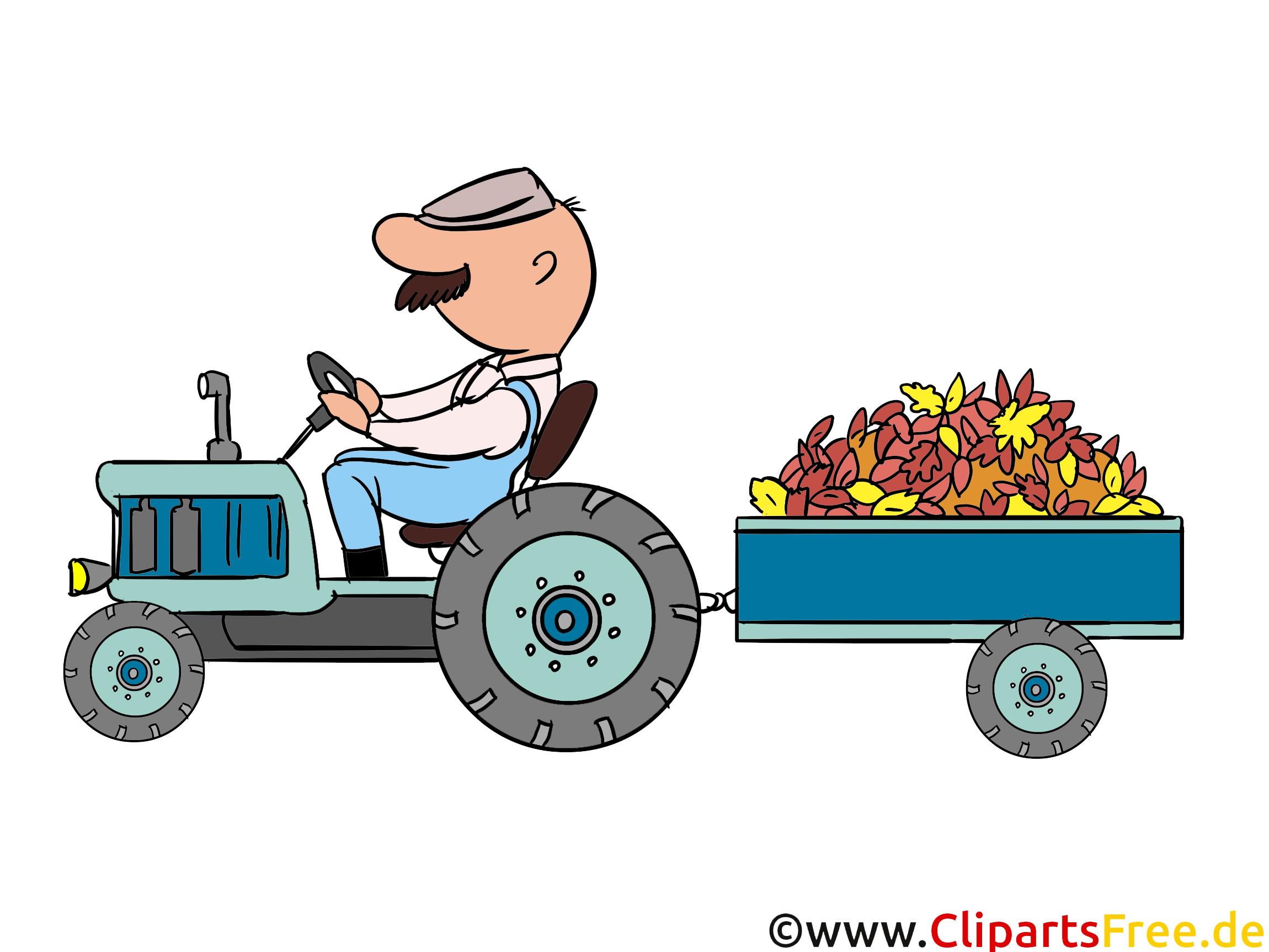 Tracteur image – Automne images cliparts