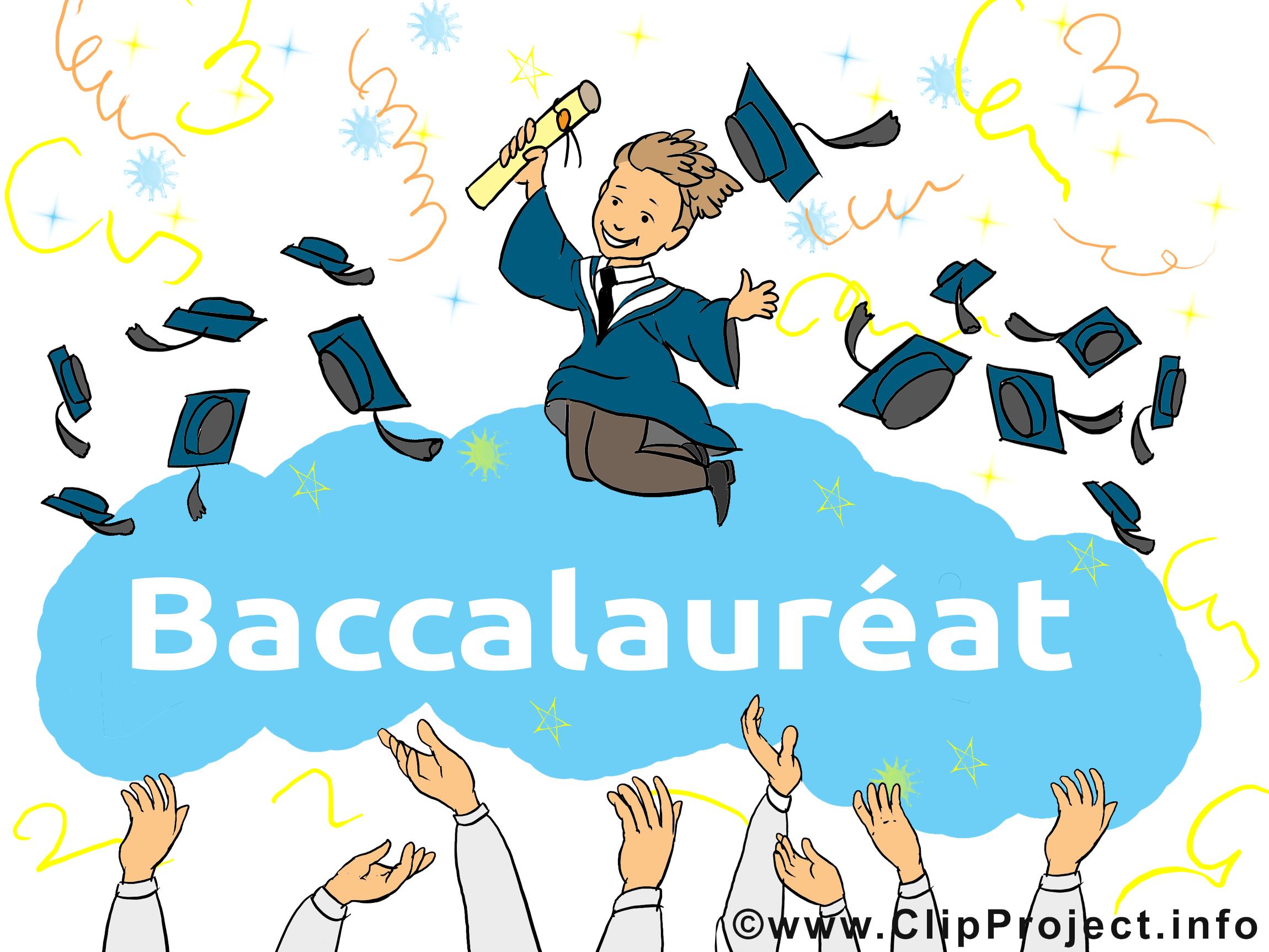 Baccalauréat image gratuite illustration