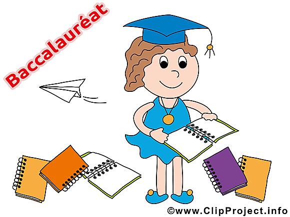 Carnets clip arts gratuits – Baccalauréat illustrations