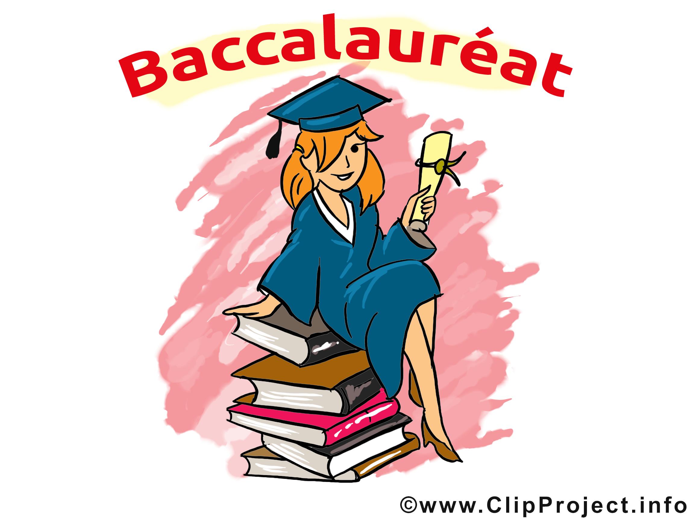 Clip art gratuit baccalauréat dessin