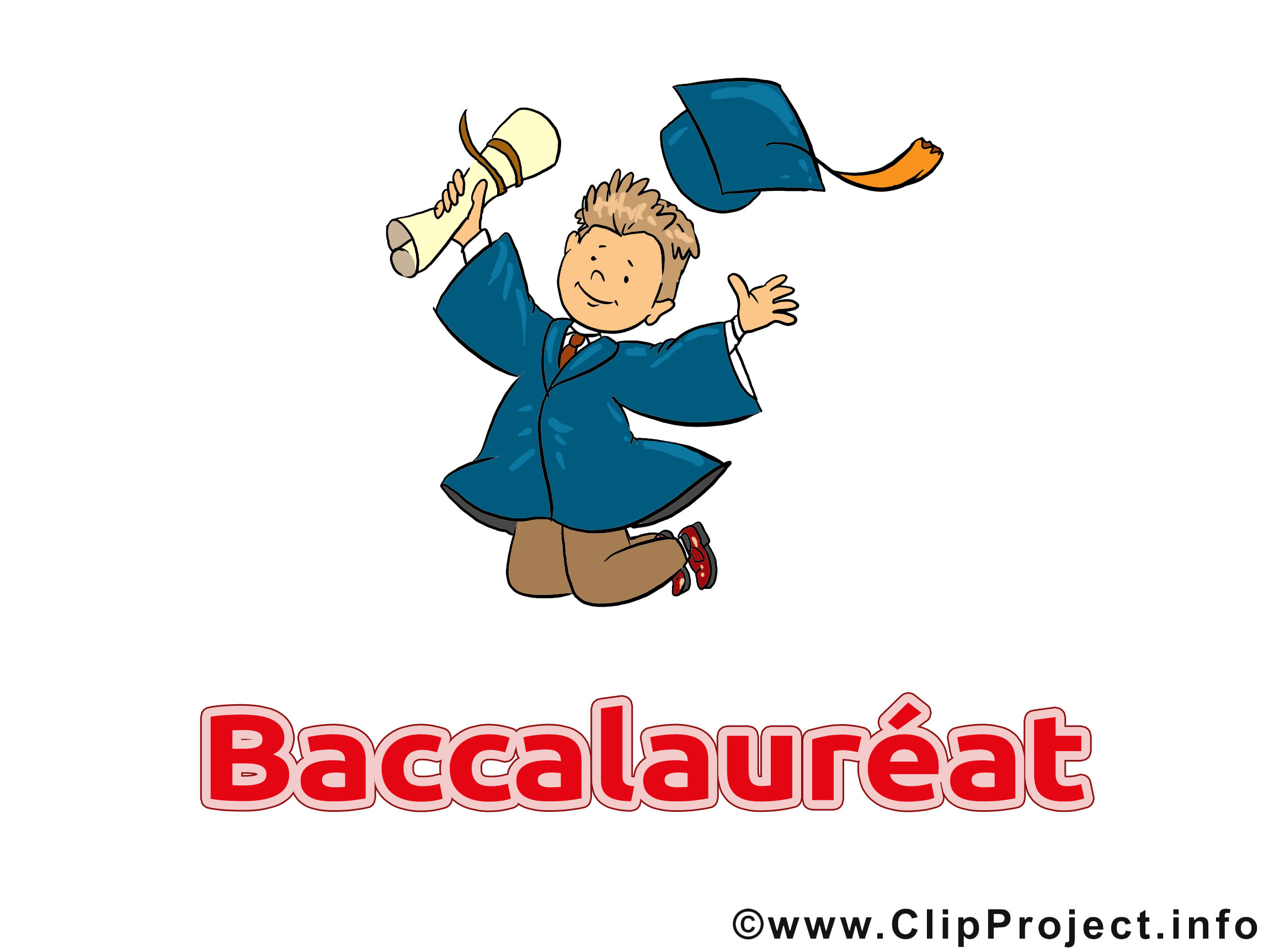 Clip arts gratuits baccalauréat illustrations