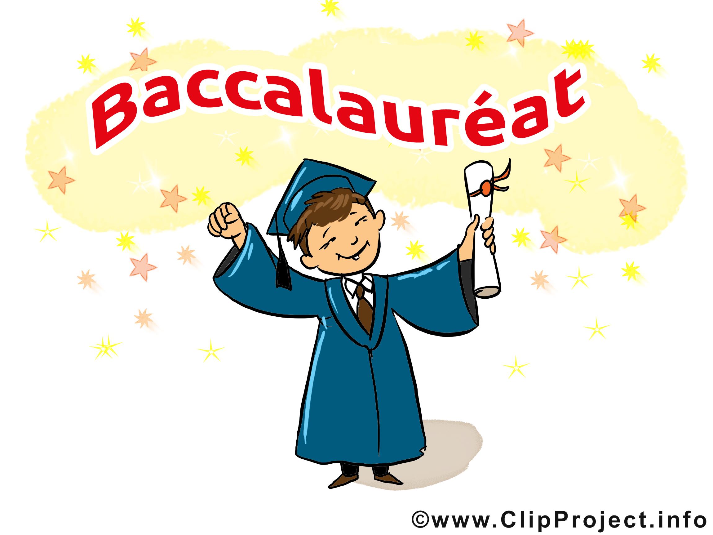 Diplôme image gratuite – Baccalauréat cliparts