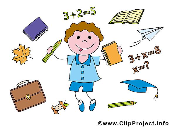 Fourniture scolaire clipart – Baccalauréat dessins