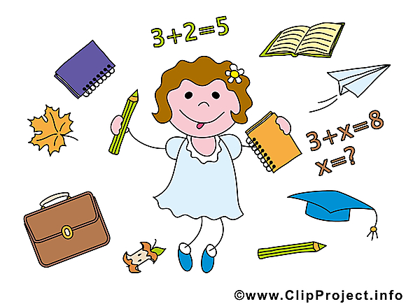 Fourniture scolaire cliparts – Baccalauréat images