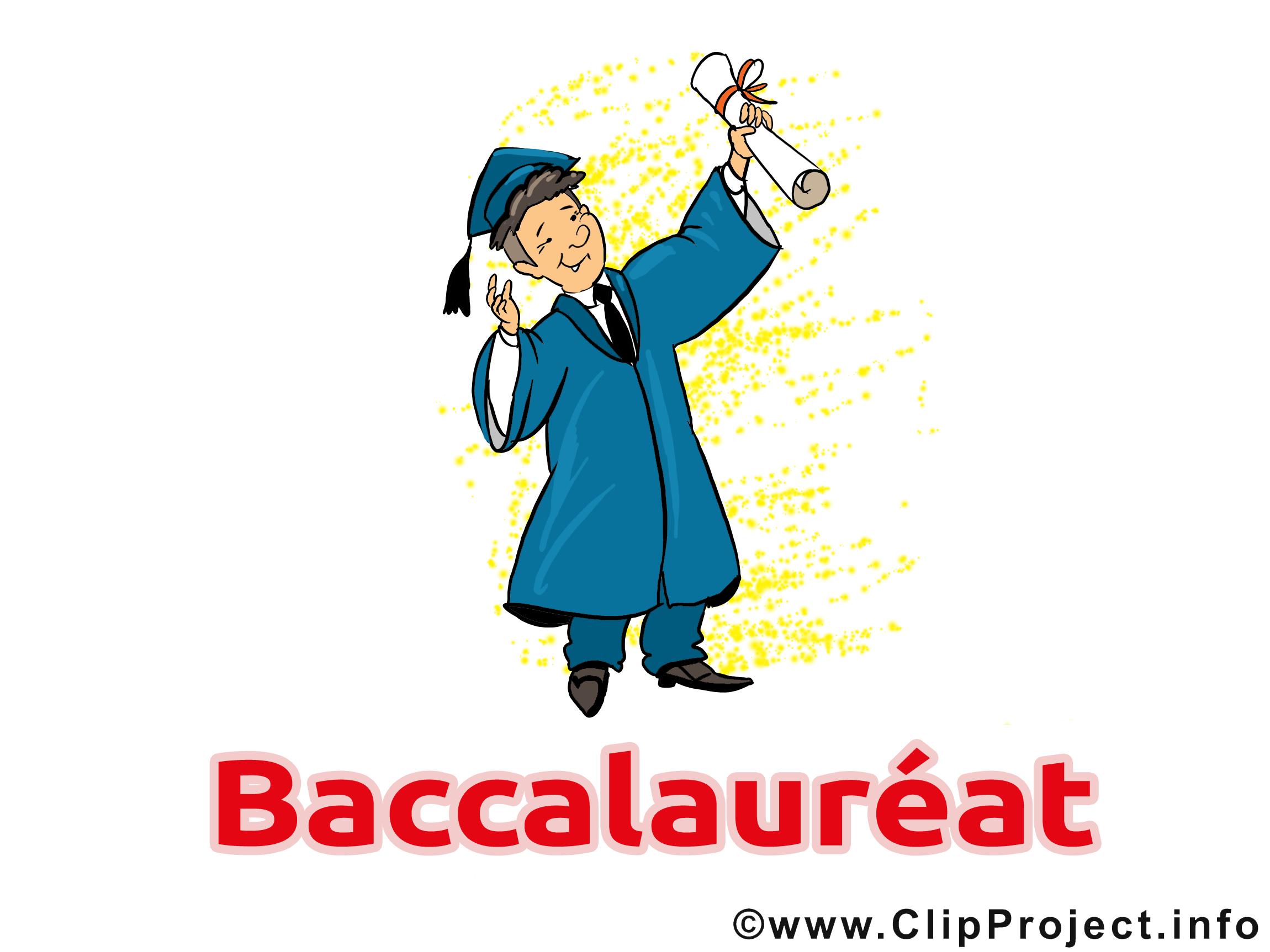 Illustration gratuite baccalauréat clipart