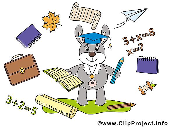 Lapin dessin gratuit – Baccalauréat image