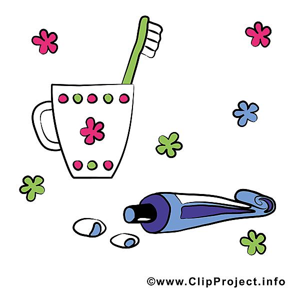 Dentifrise tasse image à télécharger – Bébé clipart