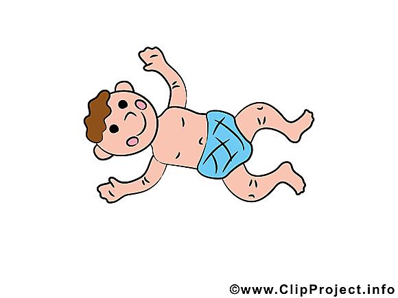 Enfant image gratuite – Bébé illustration