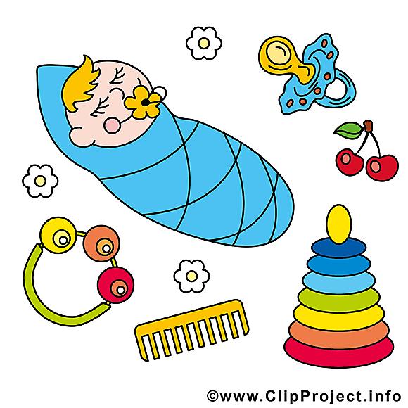 Jouets illustration à télécharger – Bébé images