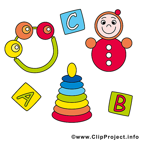 Jouets image gratuite – Bébé clipart