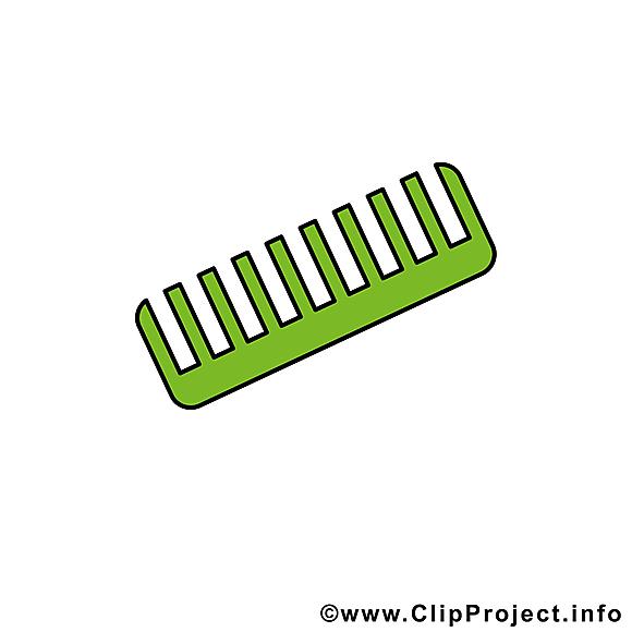 Peigne image gratuite – Bébé clipart