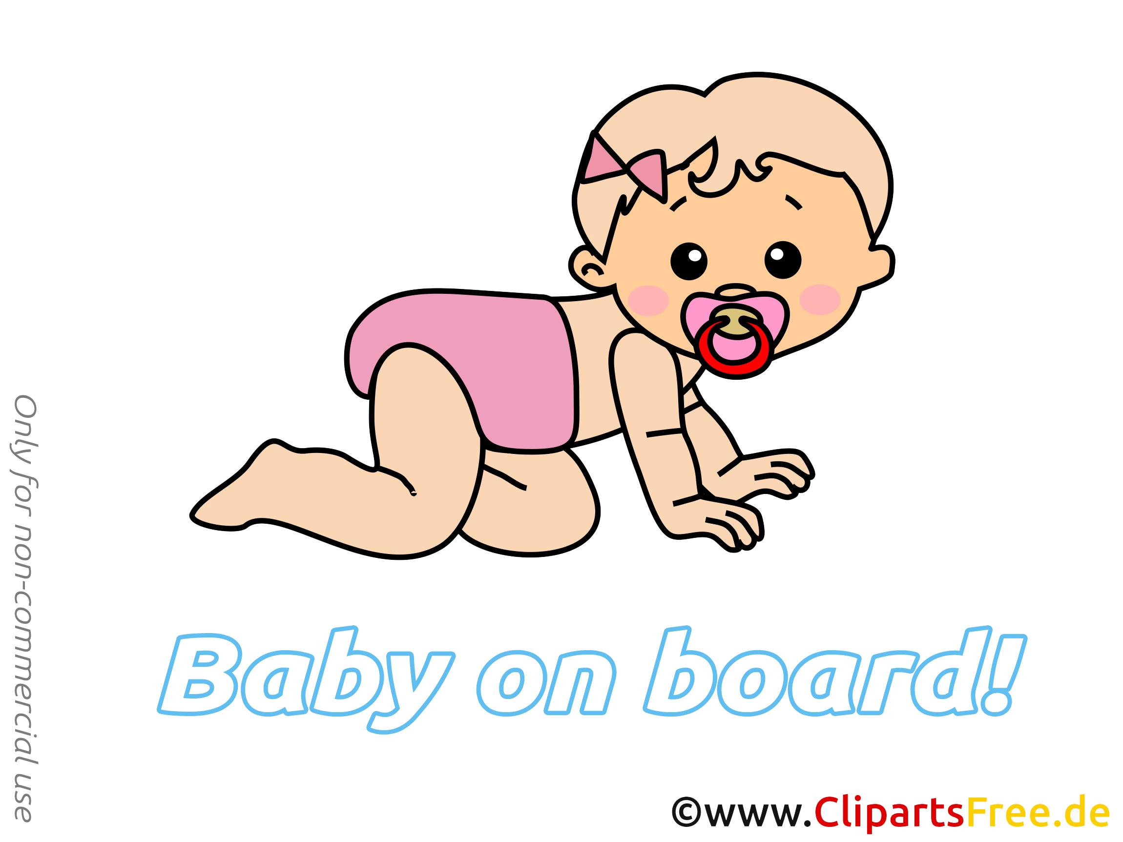 Dessin à télécharger enfant – Bébé à bord images