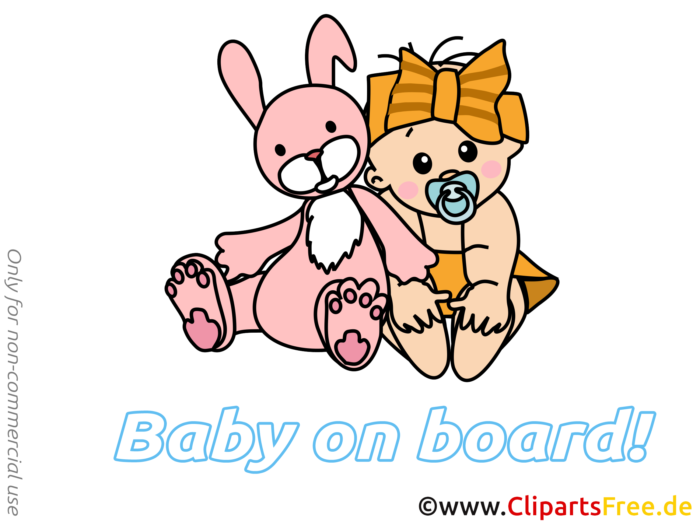 Lapin dessin à télécharger – Bébé à bord images