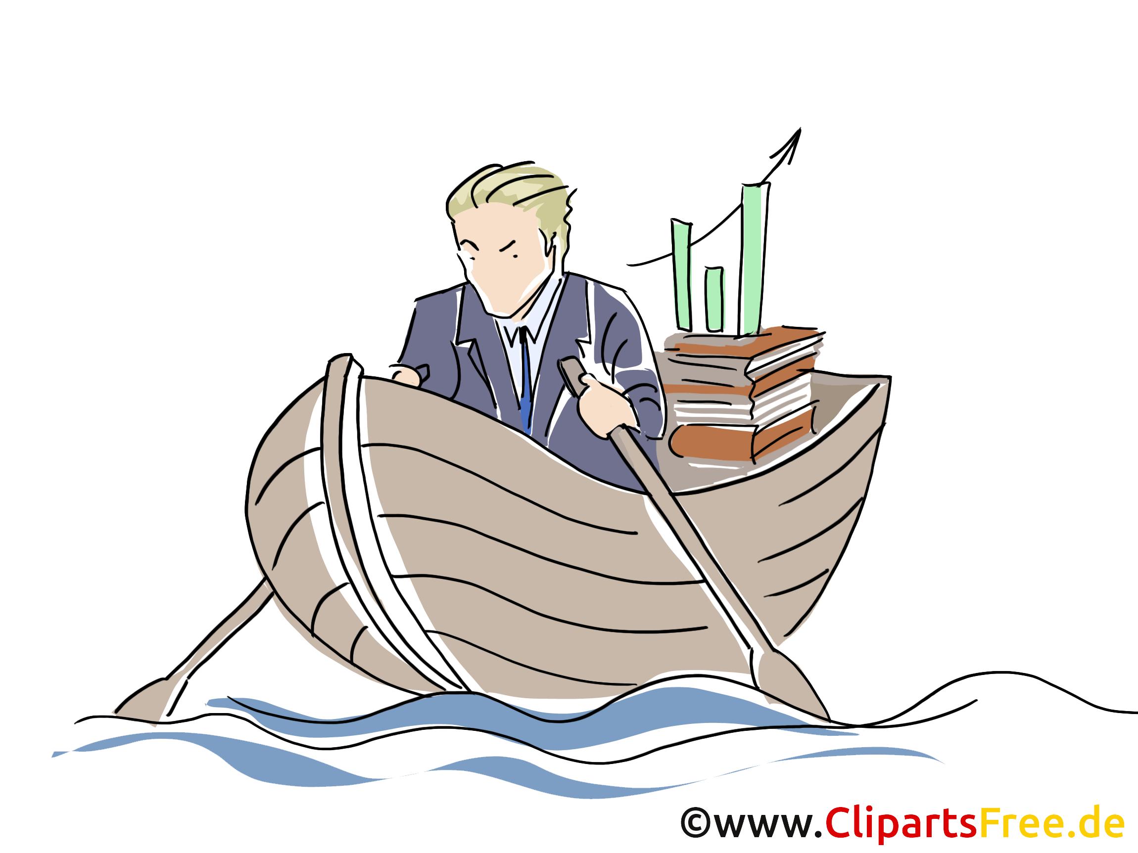 Bateau illustration gratuite – Entreprise clipart