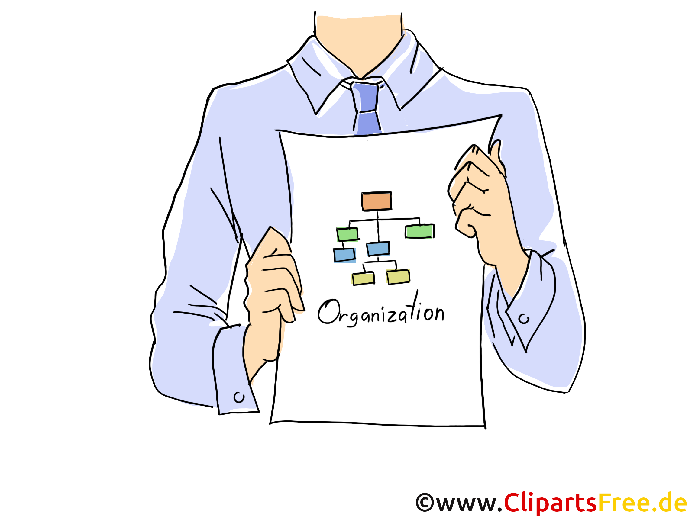 Business plan illustration – Entreprise clipart