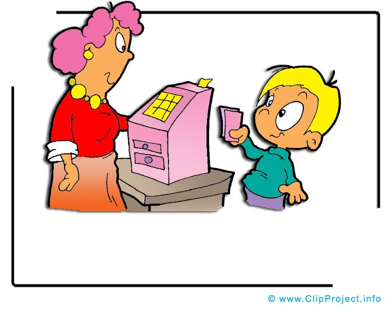 Chèque clip art gratuit – Entreprise dessin