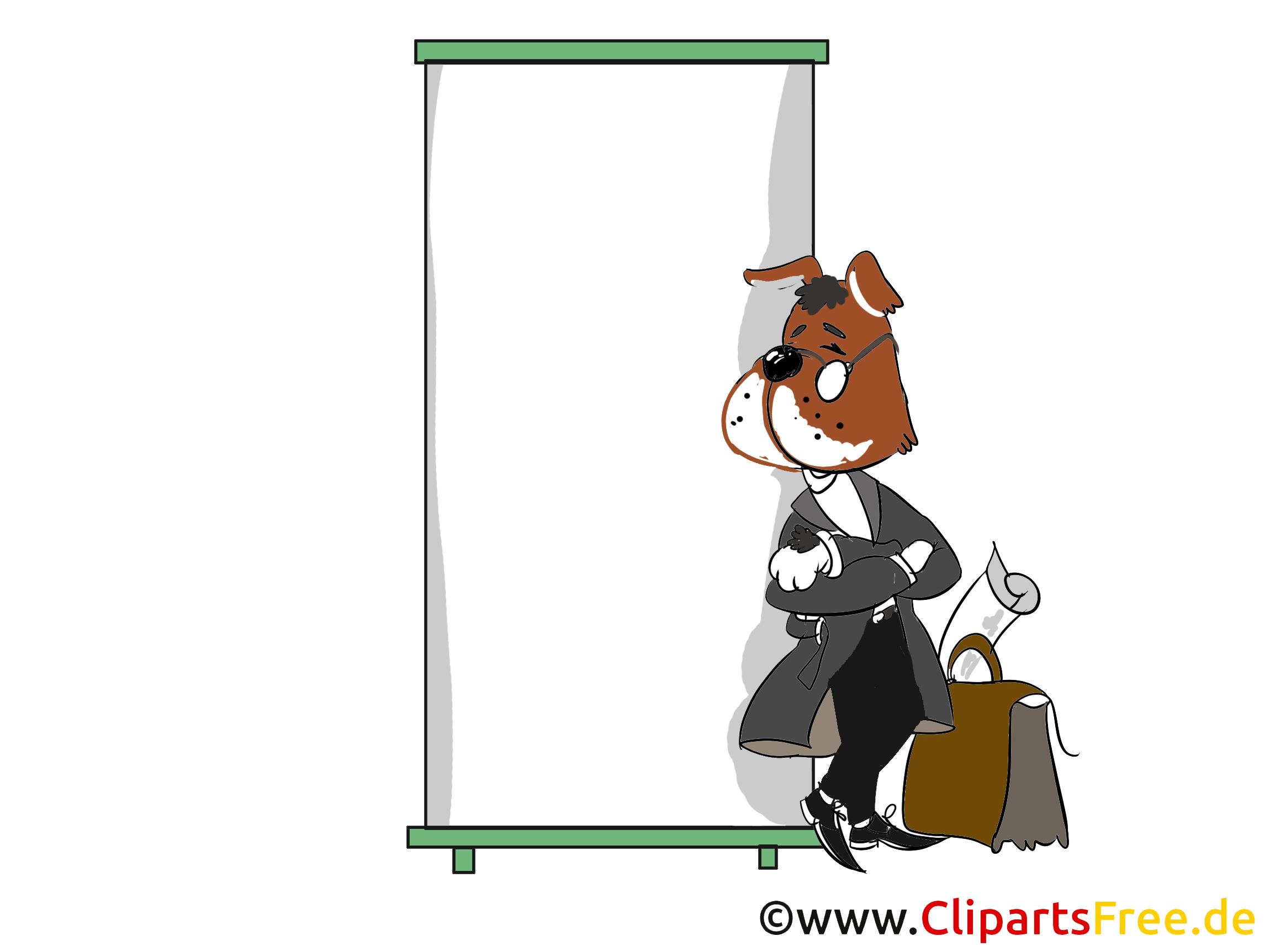 Chien business image gratuite – Entreprise cliparts