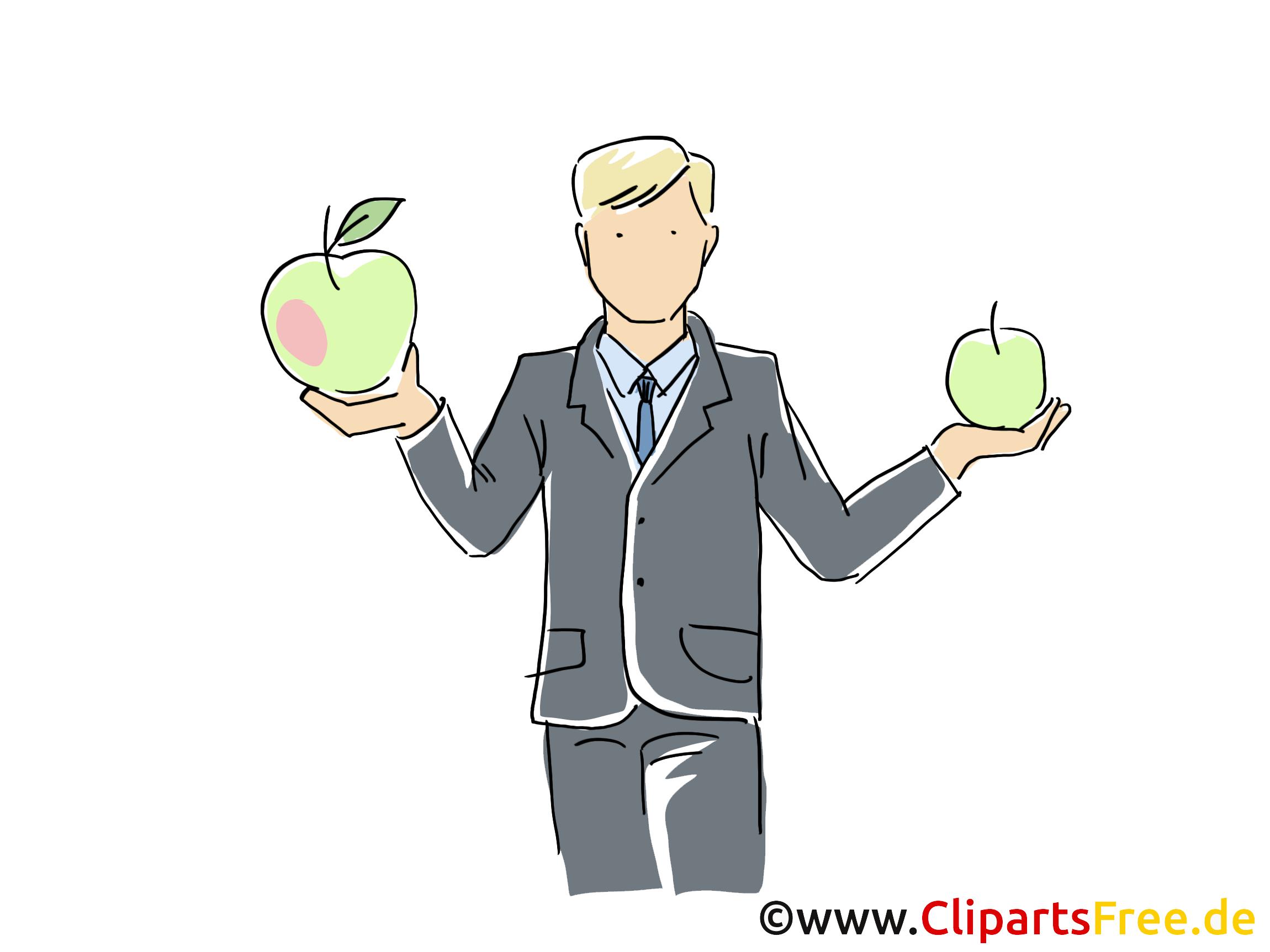 Employé entreprise illustration à télécharger gratuite